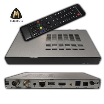 Set top box Panaccess (DVB-S2/T2/C, HEVC, HbbTV, DRM Panaccess) MAGNET-TV