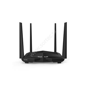 Wireless AC router TENDA AC10U 802.11ac/a/b/g/n, 1200Mb/s, GWAN, GLAN, USB 2.0